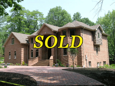 Front side of 100 Mountain Avenue, West Orange - Now sold!!!