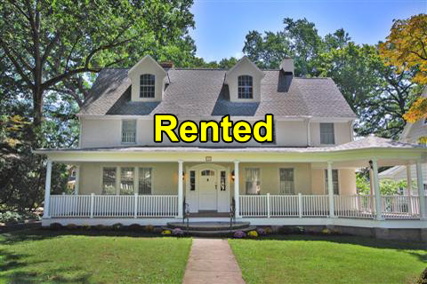 Executive Rental Home in Maplewood, Union County, NJ - now rented!